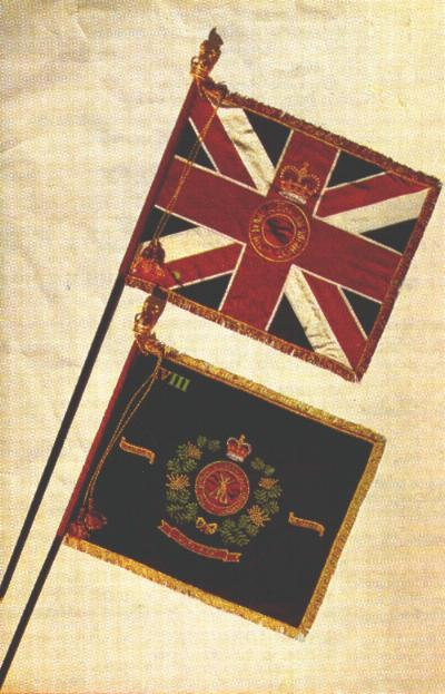 Queen's and Regimental Colours